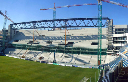 FCC CONSTRUCCIÓN S.A. Estadio Ramón de Carranza. Cádiz