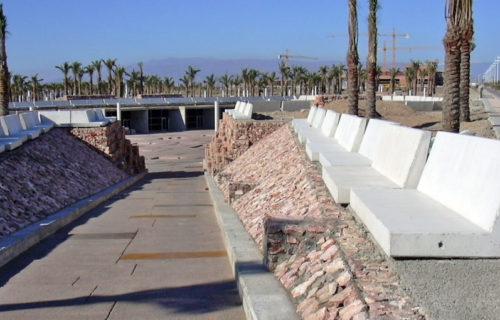 FCC CONSTRUCCIÓN S.A.  Plaza del Mar. Almería