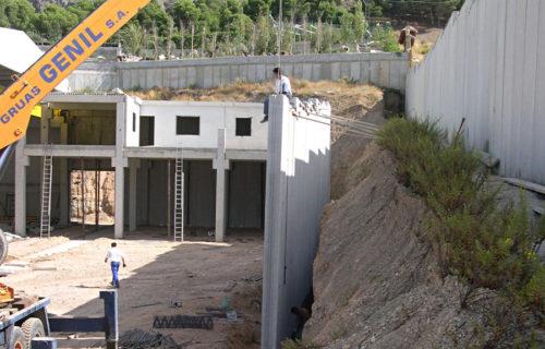 Muros de Contención Prefabricados Lecrin