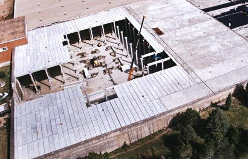 SANDO CONSTRUCCIONES S.A. Depósito en Puerto Real. Cádiz