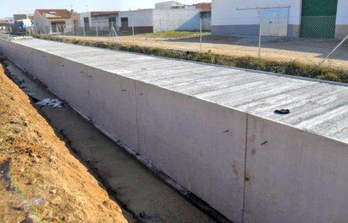 CONACON – MULTIZSA Canal de riego. Badajoz