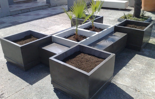 Jardineras y Bancos Prefabricados Lecrin