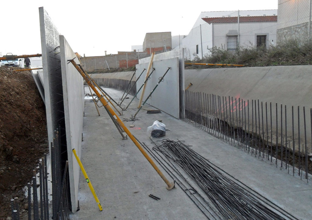muros prefabricados de doble pared