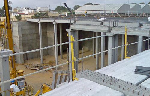 SANDO CONSTRUCCIONES S.A. Depósitos del Conquero. Huelv